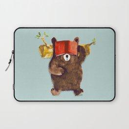 No Care Bear - My Sleepy Pet Laptop Sleeve