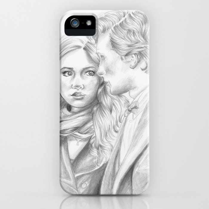 the doctor & amy iPhone Case