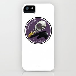 Turdus merula iPhone Case