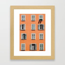 Window Puzzle Framed Art Print