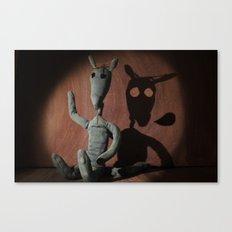cave lupum Canvas Print