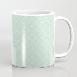 Mint Mermaid Scales Coffee Mug