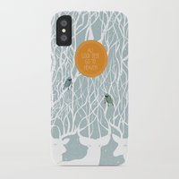 pixies iPhone & iPod Cases featuring All Good Deer go to Heaven by Cocorrina
