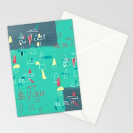 structures 2 Stationery Cards