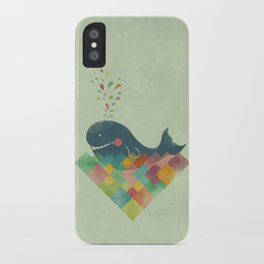 live in the present iPhone Case