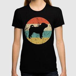 Shar Pei Vintage Retro Shar Pei Dog T-shirt