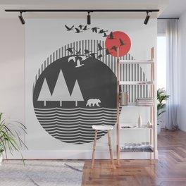 Bear Island Wall Mural