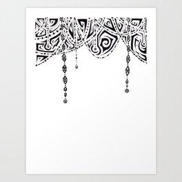 Drapes Art Print