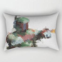 Bounty Hunter: Boba Fett Rectangular Pillow