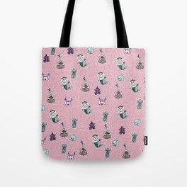 fairytale print Tote Bag