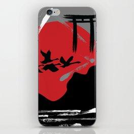 Tribute to Japan iPhone Skin