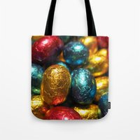 easter Tote Bags featuring Easter by habish