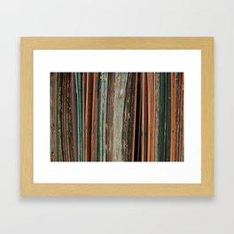 slant Framed Art Print