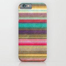 Stripes - pattern iPhone 6s Slim Case