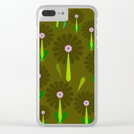 zappwaits Flower Clear iPhone Case