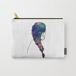 Galaxy Braids Carry-All Pouch