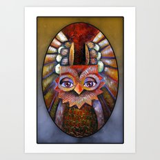 Hoot-Hoot Art Print