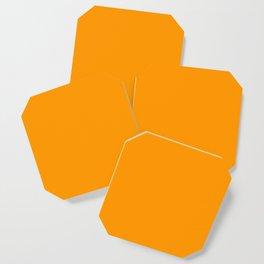 Neon Orange Coaster