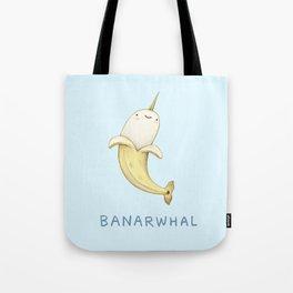 Banarwhal Tote Bag