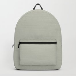 Soft Pale Creamy Beige Hand Painted Backpack