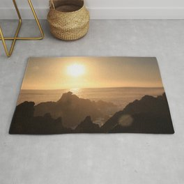 Sunset at Gordons Bay, South Africa Rug