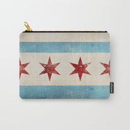 Chicago Flag Carry-All Pouch