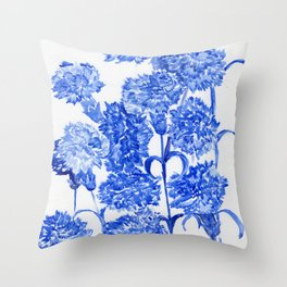 Crushed Ice Throw Pillow