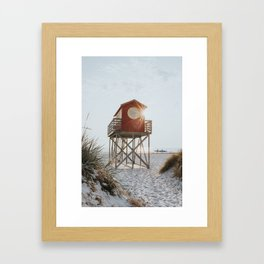 Summer at the beach - Landscape and Nature Photography Framed Art Print