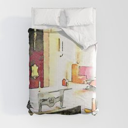 Istituto Emiliani: chapel Comforters