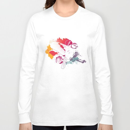 Bird of Colour Long Sleeve T-shirt