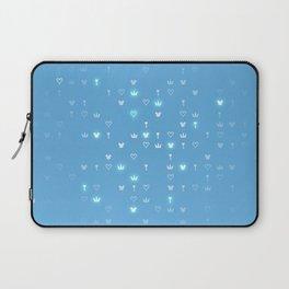 Kingdom Hearts Blue Pattern Laptop Sleeve