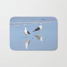 The Blues Seagull Pair Bath Mat