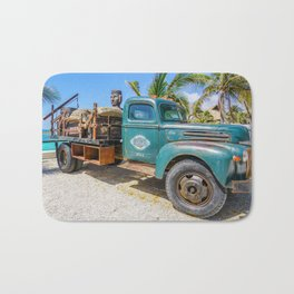 Vintage Truck Bath Mat