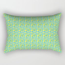 Lemoncello Teal Rectangular Pillow