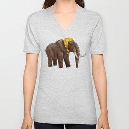 Babushka Mammoth Unisex V-Neck
