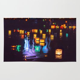 Festival of water lights Rug