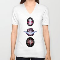 insect V-neck T-shirts featuring Insect collection by Kajoi