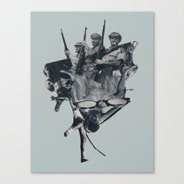 Upperhand Canvas Print