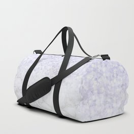 Violet Glitter and Marble Duffle Bag
