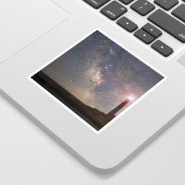 Milkyway over Thacher Island Sticker