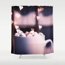 I Love Me Some Hot Chocolate Shower Curtain