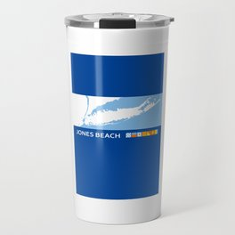 Jones Beach - New York. Travel Mug