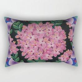 Pretty pink Pimelea flowers Rectangular Pillow