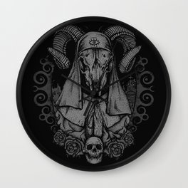 Sacrament of Death Wall Clock