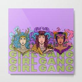 Girl Gang (Boss Babe Series) Metal Print