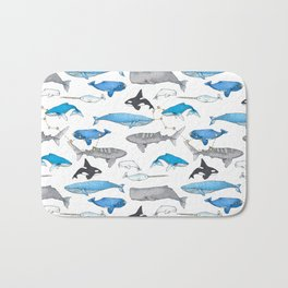 Whale Constellation Bath Mat