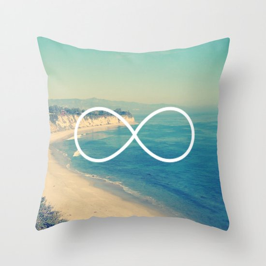 Forever Summer California Infinity Throw Pillow