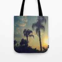 florida Tote Bags featuring Florida by Jillian Stanton