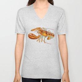 Maine Lobster Unisex V-Neck