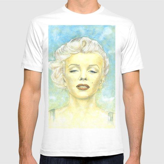 Marilyn Monroe comic book cover T-shirt